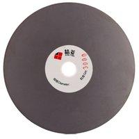 Rouleau de disque de broyage à finition diamant de 5 pouces 125 mm Gred 3000 Rouleau de disque à revêtement recouvert de disque plat Lapidary Tools pour grinder Gemstone Jewelry Glass