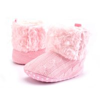baby fleece fabric - Add wool fleece baby shoes winter warm indoor toddler baby boots shoes pieces pairs