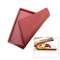 Wholesale 36 cm Non Stick Silicone Multifunction Oven Mat Baking Cake Pad Swiss Roll Pad Bakeware Baking Tools