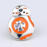 bb onyx - STAR WARS Force Awakens Robot BB Brooches For The Gift Of Men And Women Movie Jewelry Factory Direct Sale
