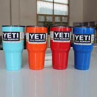 Wholesale cdyeer Hot sell oz Stainless steel vacuum mug cup summer explosion models selling colored yeti mug