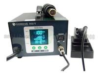 Venta caliente, 220V 2 en 1 estación de soldadura Gordak 952-V de la pantalla del color de Digitaces por el control inteligente, ENVÍO LIBRE MYY