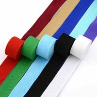 Wholesale 20mm DIY Cloth Cotton Herringbone Thickening Knitted Ribbon Webbing for Bag ribbons Woven Tape