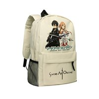 Wholesale Sword Art Online Camouflage Backpack SAO Shoulder Bag for Teenagers Children School Bag Sword Art Online Shoulder Bags Child Mochila SAO