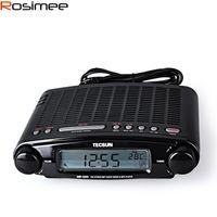Wholesale Tecsun Radio MP DSP FM Stereo USB MP3 Player Desktop Clock ATS Alarm Black FM Portable Radio Receiver Y4137A Tecsun MP300