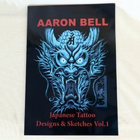 best japanese tattoos - Best Price A3 Size Japanese Style Tattoo Flash Book Sketch Dragon Reference Supply For Tattoo Makeup Body Art TB2203