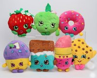 Wholesale Styles Fruit and Icecream Plush Toy Dolls Stuffed Toys