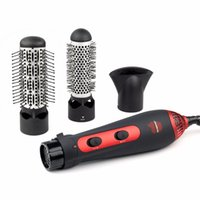 Wholesale 3in1 v v W power Multifunctional styling tools hair sticks kinkiness hair dryer machine comb hairdressing tool