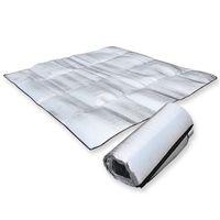Wholesale Camping Mat Foldable Folding Sleeping Mattress Mat Pad Waterproof Aluminum Foil EVA Outdoor There Size EA14