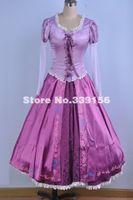best seller games - Best Seller Adult Rapunzel Fancy Dress Anime Cosplay Costume Princess Fairytale Tangled Cosplay Dresses Halloween Costumes