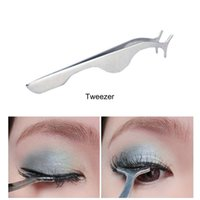 Wholesale Newest Arrival Good Quality Makeup Tool For Woman False Eyelashes Tweezers Stainless Steel Tweezers Drop Shipping