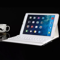 Wholesale keyboard case Detachable Bluetooth Keyboard Leather Case For ipad air air2 ipad mini Tablet Cases