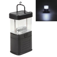 achat en gros de aa batterie lanterne-2017 Outdoor Led Camping Lamp Tent Light 11 LEDs suspendues Flat LED Light Lanterns pour la maison / à l'extérieur 3 piles AA Power LEG_719