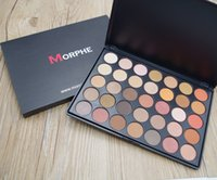 Wholesale NEW Morphe Brushes color Natural Matte Eyeshadow palette K W T P O A D C DHL free Cosmetics