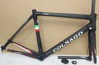 Wholesale 12 color can choice colnago c60 road bike carbon frame full carbon fiber road bike frame cm T1000 carbon frameset