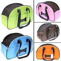 Wholesale C02 Pet dog carrier bag Mesh Breathable Dog Cats carry bag Portable Traveling Shoulder Bags Pet Accessories Carrier