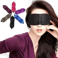 Wholesale 3D sleep mask Travel Rest D Sponge Eye MASK Black Sleeping Eye Mask Cover for health care to shield the light