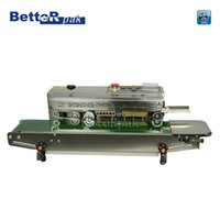 band sealers - FR Continuous film sealing machine plastic bag package machine band sealer stainless steel heat sealing machine V Hz