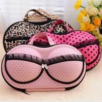 Wholesale 18 colors bra storage bag for women colorful undewear protect case travel storage bags C1837