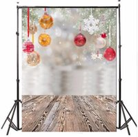 Wholesale 3x5FT Vinyl Photography Background Christmas Gift Wooden Floor Backdrop for photo Studio Props waterproof m x m