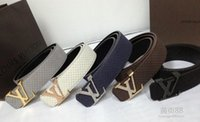 Wholesale 2016 l New v belt designer belts men high quality strap smooth ff belt fashion mens belts luxury gg belt epacket shipping