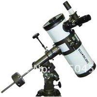 achat en gros de télescope étoiles-Visionking 1000 114mm Télescope astronomique à montage équatorial Télescope astronomique Star / Moon / Saturn / Jupiter haute puissance