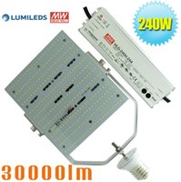 Wholesale 1000 Watt High Pressure Sodium Parking light Replacement LED Retrofit kit W Use In Tennis Court Garage Gym