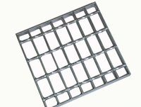 bar gratings - High Quality Mild Steel or Stainless Bar Granting Hot dip Galvanized Walkway Mesh Steel Cross Bar Grating for Industrial Use