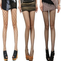 Wholesale Sexy Socks for Women Women Ladies Fishnet Net Mesh Pattern Burlesque Hoise Pantyhose Black Tights One Size