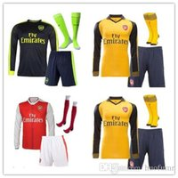 arsenal mix - Mixed buy DHL Arsenals long sleeves kit socks Jerseys shirts WILSHERE OZIL WALCOTT RAMSEY ALEXIS price Jersey hom