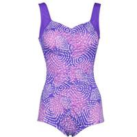 Wholesale Tummy Control Swimsuit Fashion Waist Slimming Bathing Suit New design Popular Hot Seductive Sexy Galaxy Paisley Print One Piece Swimwear