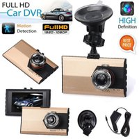 Wholesale 3 Full HD P Car DVR Dash Camera G sensor Vehicle Video Cam Recorder