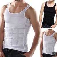 Wholesale Men s body sculpting clothing abdomen thin waist shaping Shu Shen thin body underwear tight fitting sports vest