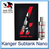 Wholesale Kanger Subtank Nano Atomizer ML Kangertech Subtank Nano Clearomizer Kanger Pyrex Tank Subtank Nano OCC Coil Atomizer subox mini DHL FREE