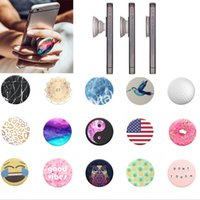 Wholesale Universal Popsockets Expanding Phone Hold Grip Stand Pop Socket Car Holder Mount Bracket For Smart Phones Tablet PC iPad iPhone W Package