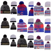 Wholesale 2016 Cheap Chicago world series champs cubs beanies Winter Beanies Top Quality For Men Women Skull Caps Skullies Pom Knit Snapback Caps Hats
