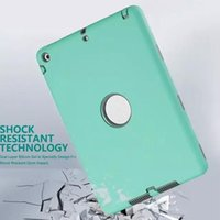 Wholesale New in Defender waterproof shockproof Robot Case military Heavy Duty silicon cover for ipad air ipad ipad mini