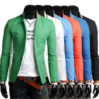 Wholesale New Designer Mens casual Blazer Slim Fit Coats Stylish Blazers Men Jacket M XL Colors Terno Masculino HY829