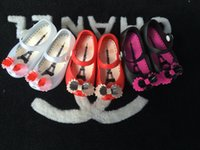 Wholesale Children Bow Shoes Kids Jelly Shoes Soft Girls Sandals Bottom Melissa Princess Girls Baby Girl Bowknot Sandal