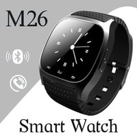 android woman - 2016 Bluetooth Smart Watches M26 Watch for iPhone Samsung HTC Android Phone health smartwatch woman free DHL VS DZ09 U8