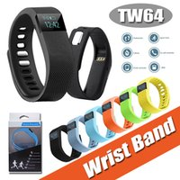 age box - FITBIT TW64 Bluetooth Smartband Fit Bit Wrist Activity Sleep Wristband Smart Bracelet For Android iPhone Plus S S With Retail Box