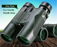 Precio de Hd militar-Ejército Verde Militar HD 10x42 Binoculares Telescopio Profesional de Caza Zoom Alta Calidad Visión No Ocular Infrarrojo