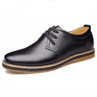 apartment free office - New British fashion male business wedding dress breathable leather shoes apartment gentleman oxfords shoes