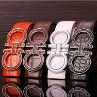 Wholesale Hot good price pu leather belts for men designer mens belt design brand women waist belts top fashion smooth buckle luxury mens belts