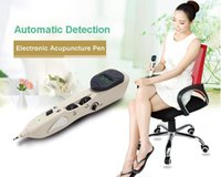 bian stone therapy - Electric meridian energy pen Acupuncture Pen Pain Therapy Electronic Pulse Massage Infrared Laser Health Car Acupressure Tools Bian Stone