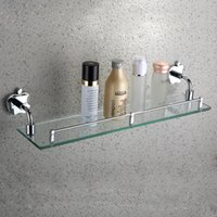 Wholesale Jieshalang All copper single hanging rack Apple shelf bathroom sanitary ware toilet makeup aircraft cosmetics