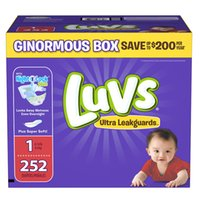 Wholesale Luvs Ultra Leakguards Disposable Diapers Size Size
