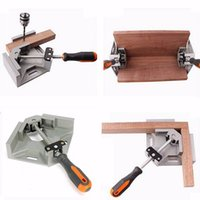 Wholesale 90 Degree Corner Right Angle Carbide Vice Clamps Woodworking Clip DIY Photo Frame Aquarium Furniture Frame Gussets Tools