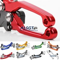 Wholesale For Honda CRF250R CRF450R Dirt Bike Brake Clutch Levers Hot Sale Motorcycle Brakes CNC Aluminium
