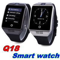 Cheap for Android Q18 bluetooth smart watch Best Italian Dial Call Q18 smart watch with sim card